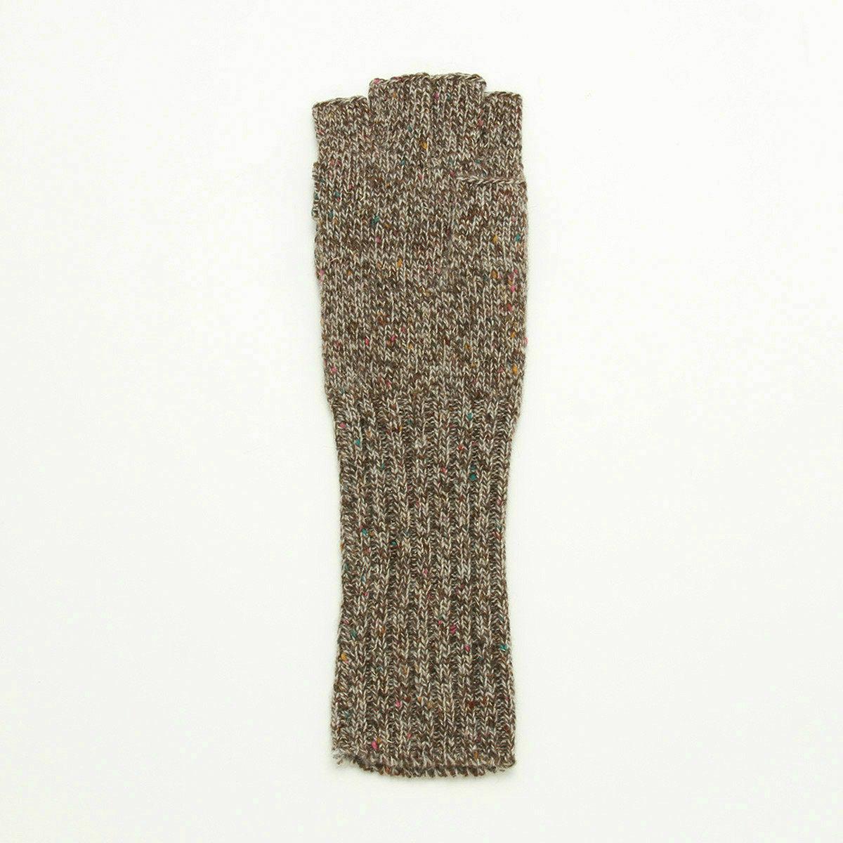 アルタクラッセ レディース 指切り・フード付 スマホ対応 2WAY ニット手袋 フリーサイズ 全3色