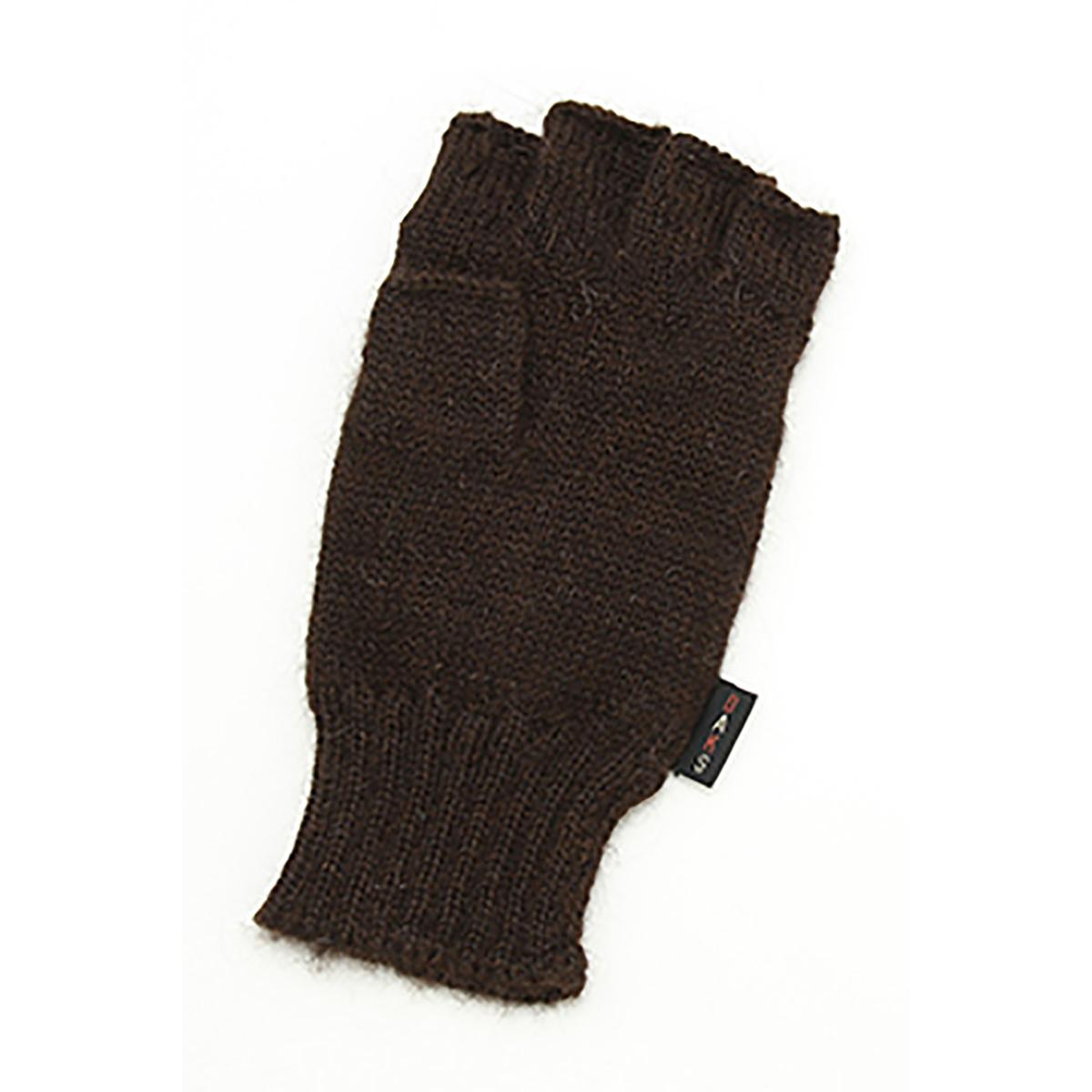 DAKS フード付き 2WAYミトン アルパカ100%ニット メンズ 手袋 フリーサイズ 全4色