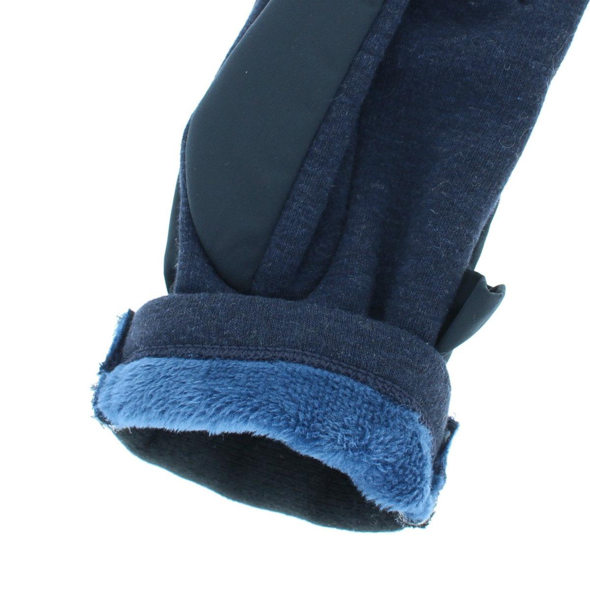 撥水加工 カジュアル 手袋 カフス回りに ビッグフリル BIYUTE
