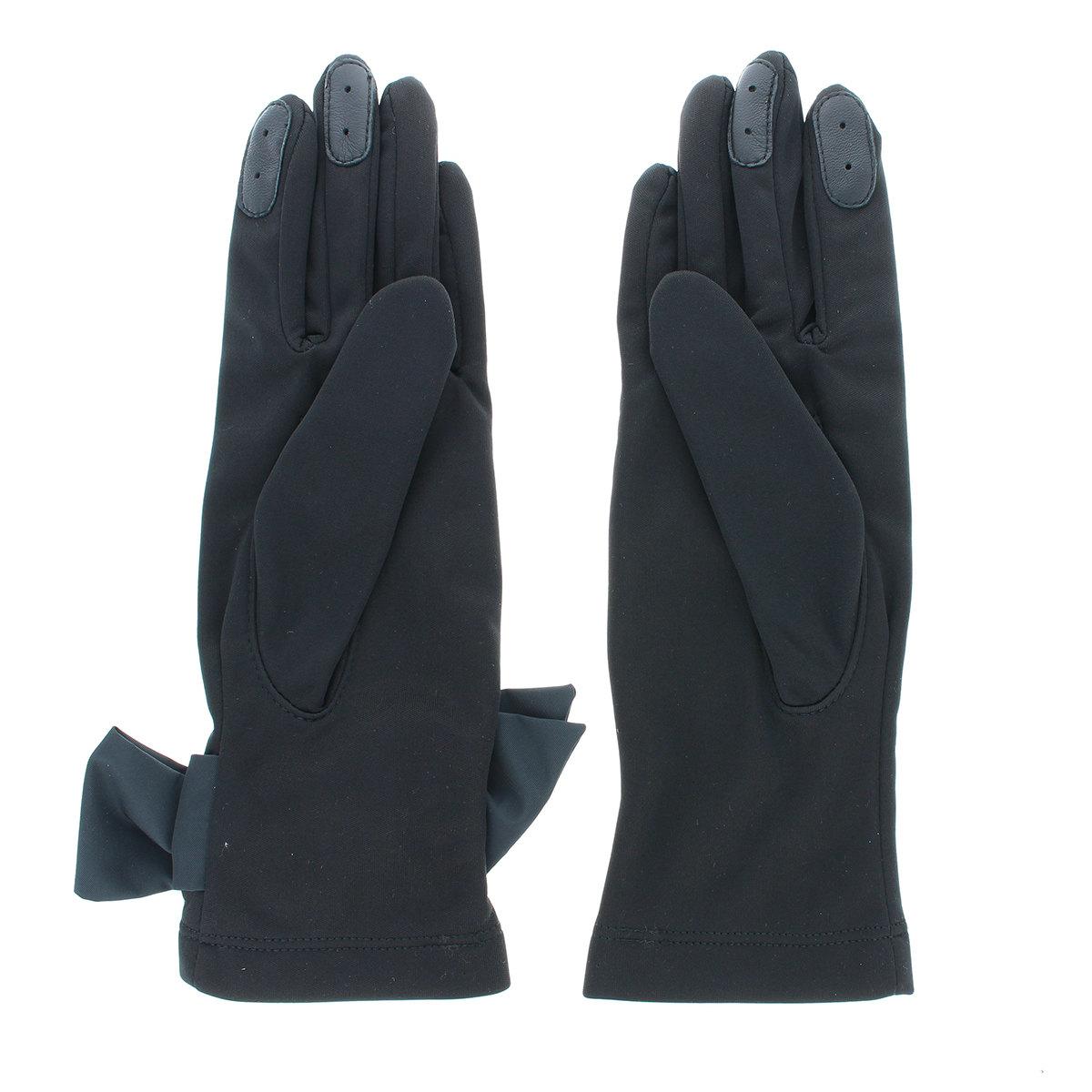 防風加工 ジャージ 手袋 タッチパネル対応 スマホが使える BIYUTE