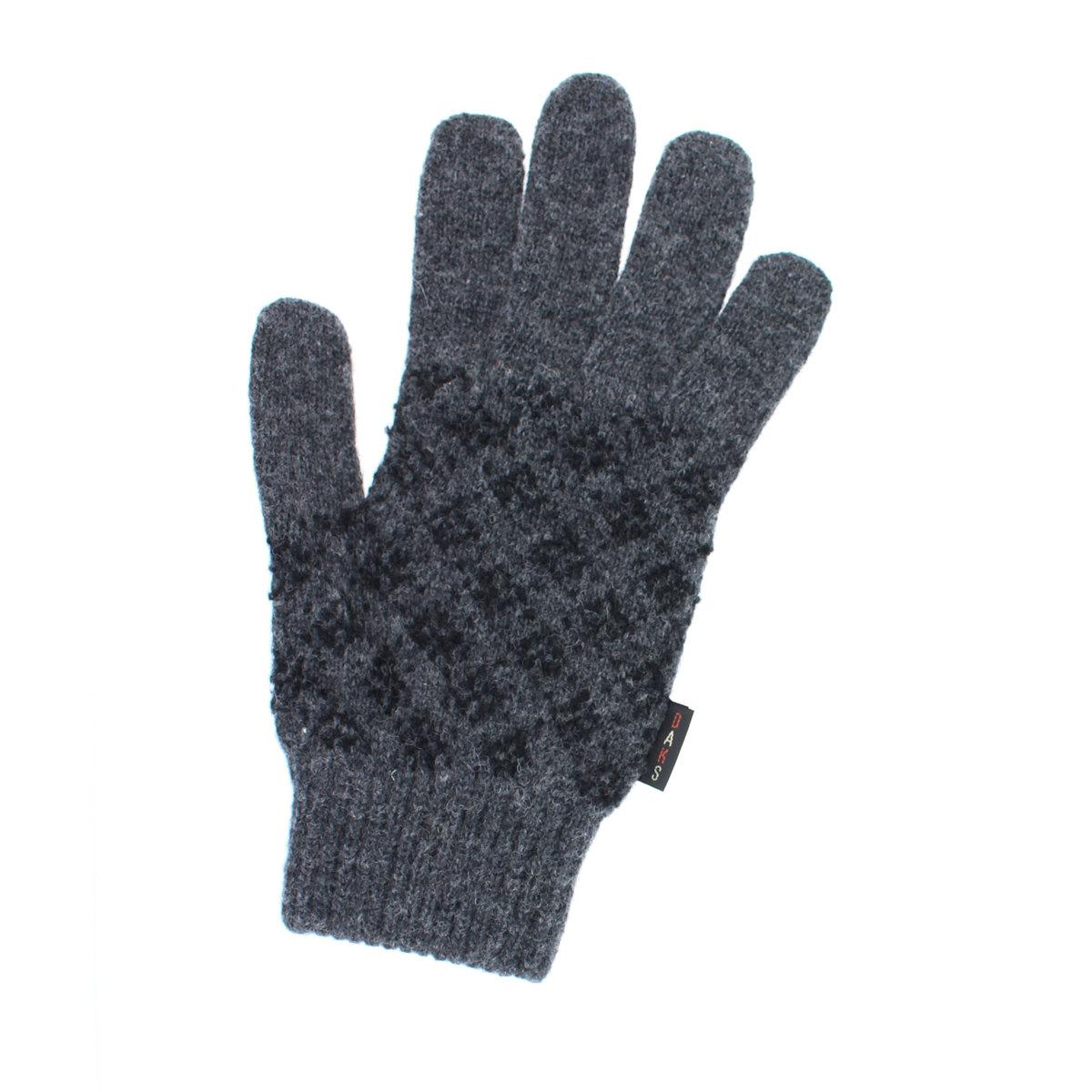 DAKS ダックス チェック柄 ニット メンズ 手袋  日本製 フリーサイズ 全3色