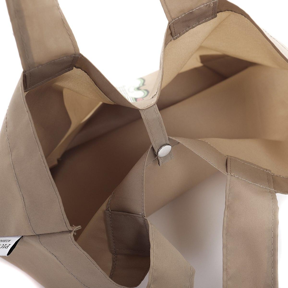 【新作】PICONE ピッコーネ エコバッグ ハンドバッグ バイオリン マチ付 ポケッタブル 収納 持ち運び ランチ ギフト人気ブランド