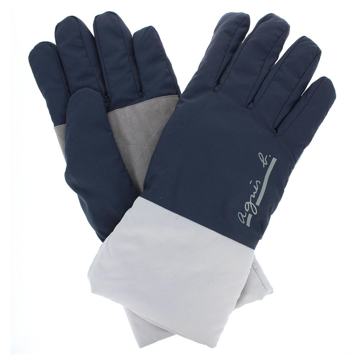 【SALE】メンズ手袋 アニエスベーオム agnes b スポーツ スキー プレゼント 通勤 防寒 防風 おしゃれ ビジネス小物 ファッション雑貨 大学生 暖か