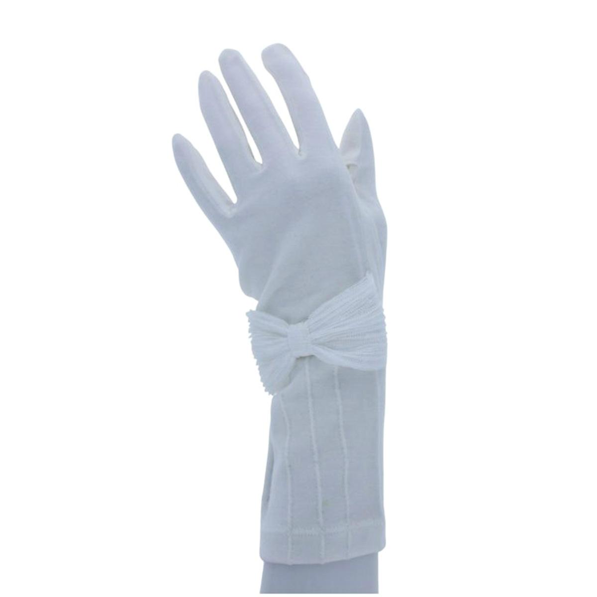 アルタクラッセ UV手袋 UVカット 紫外線対策 長めショート丈 27cm 接触冷感 ひんやり 抗菌 ストレッチ 保湿 スマホ タッチパネル対応 リボン プレゼント