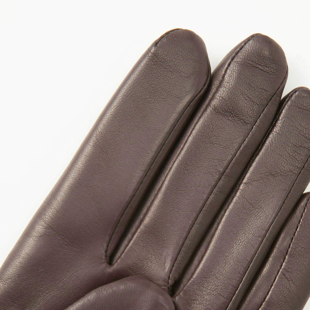 アルタクラッセ カプリガンティ 日本製 あったかニット裏地 メンズ 革手袋 全3色 23cm(SM)