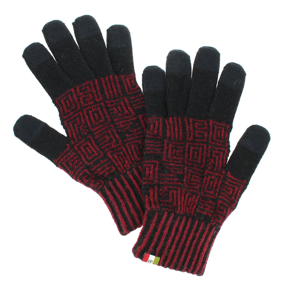 手袋 メンズ ニット オロビアンコ スマホ対応 防寒 アウトドア 秋 冬 暖かい 温度調整 スポーツ ブランド カジュアル プレゼント
