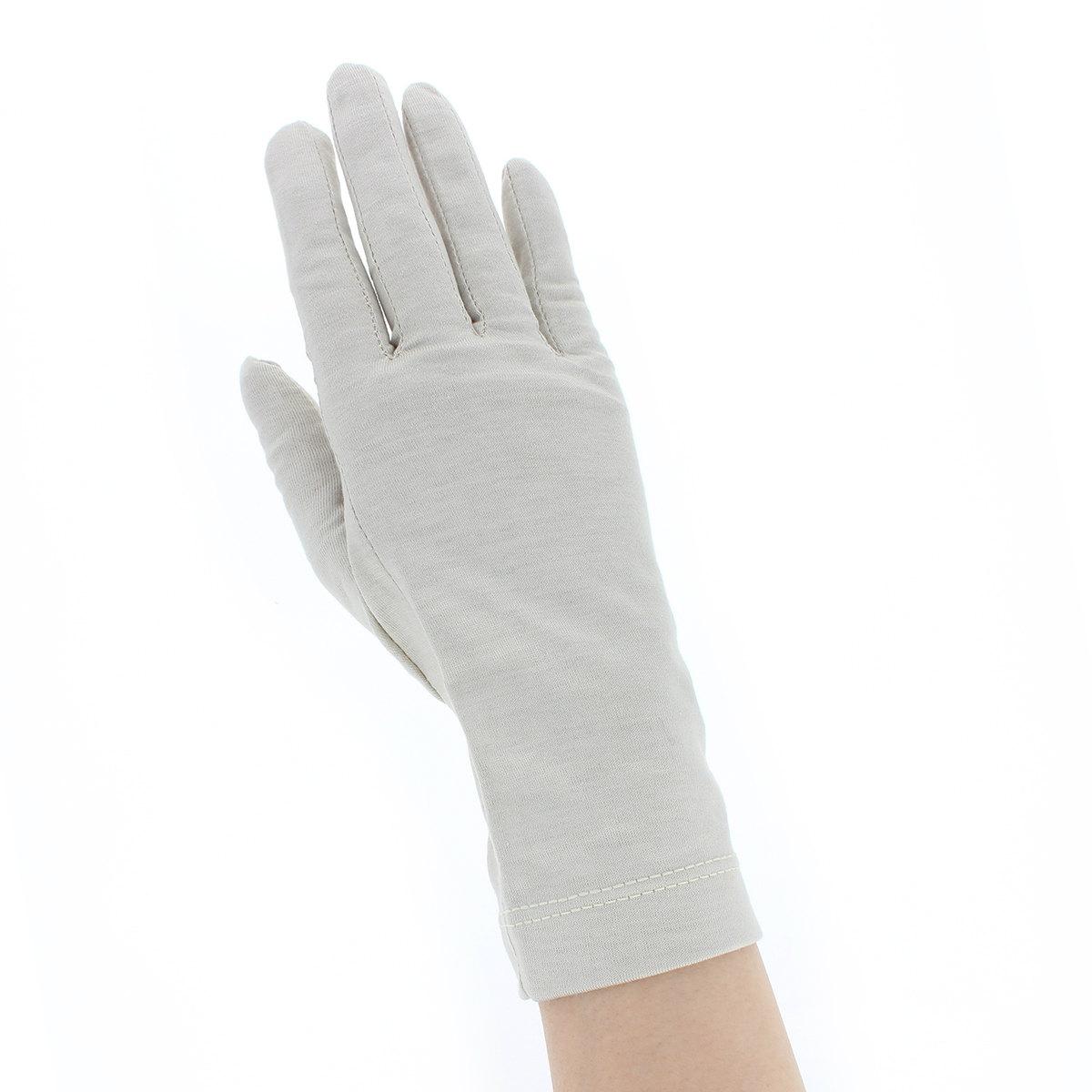 レディース UV手袋 マスクセット 抗菌 抗ウイルス 雑菌抑制 消臭 花粉対策 敏感肌対応 肌にやさしい 綿100% UVカット 五本指手袋 布マスク 汚れ分解 ショート丈 滑り止め付