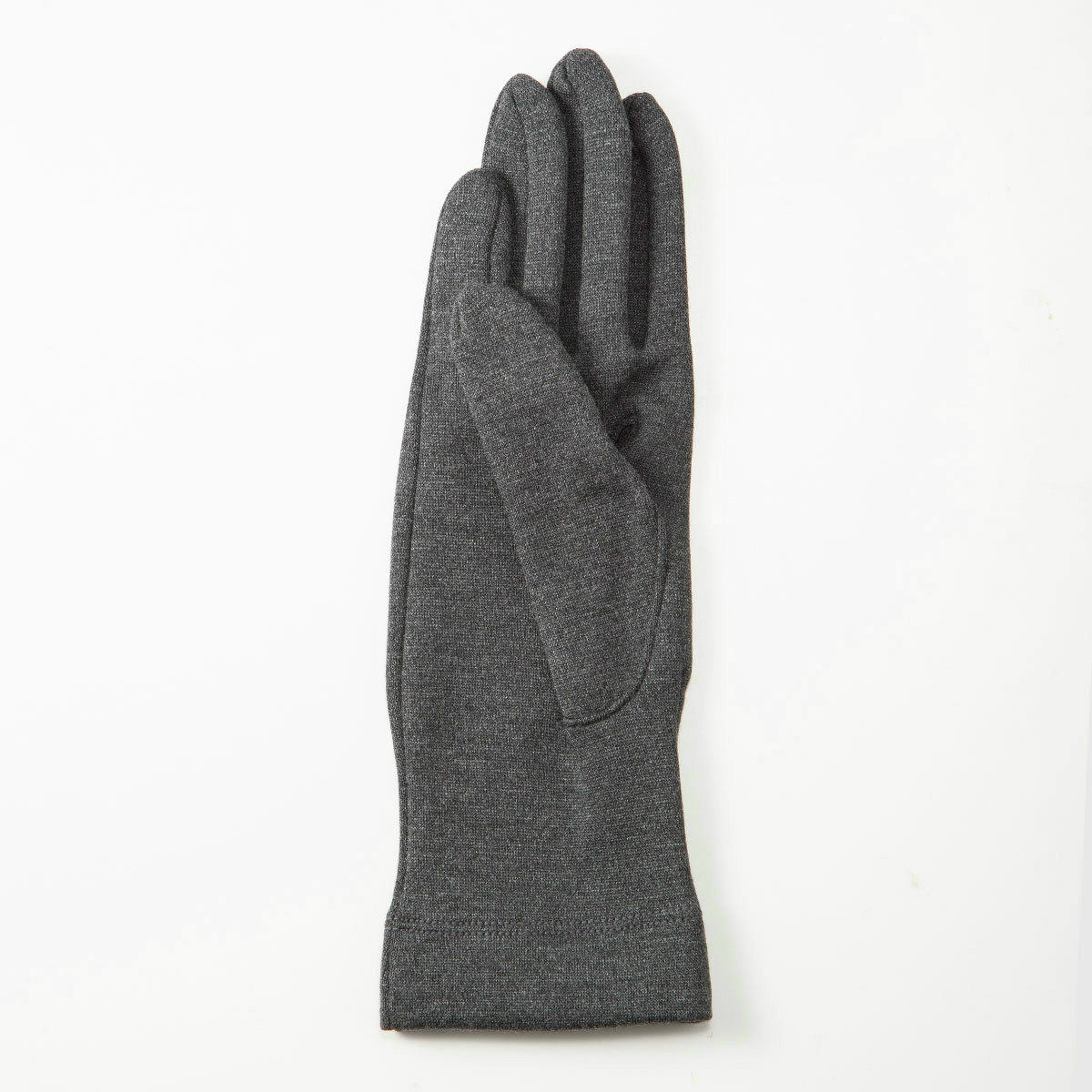 BIYUTE レディース ジャージ手袋 シンプル ちょっと長め丈 ストレッチ素材 Mサイズ 全3色