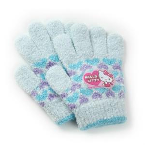 サンリオ ハローキティ キッズ ガールズ ニット手袋 日本製 のびのび手袋