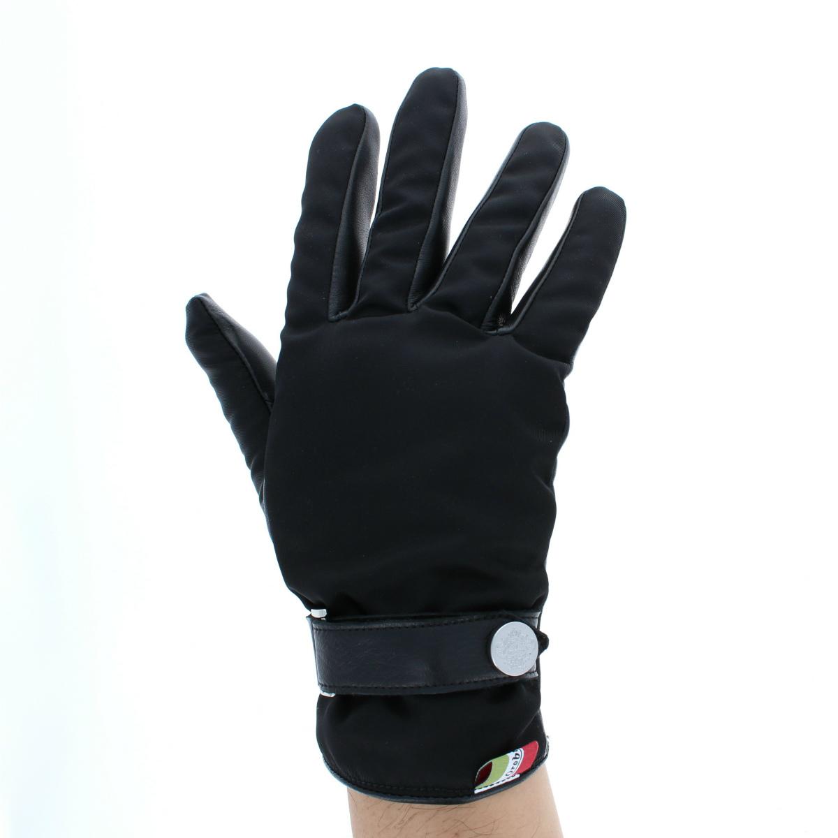 オロビアンコ メンズ リモンタ社製ナイロン メンズ防寒手袋 起毛裏地付 Mサイズ MLサイズ 全4色