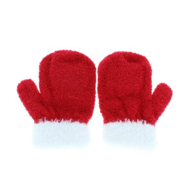サンリオ ハローキティ 音が鳴る ふわふわ 柔らか ミトン 手袋 保育園 登園 お外あそび 女の子 女児 1歳 2歳 3歳 ひも無し