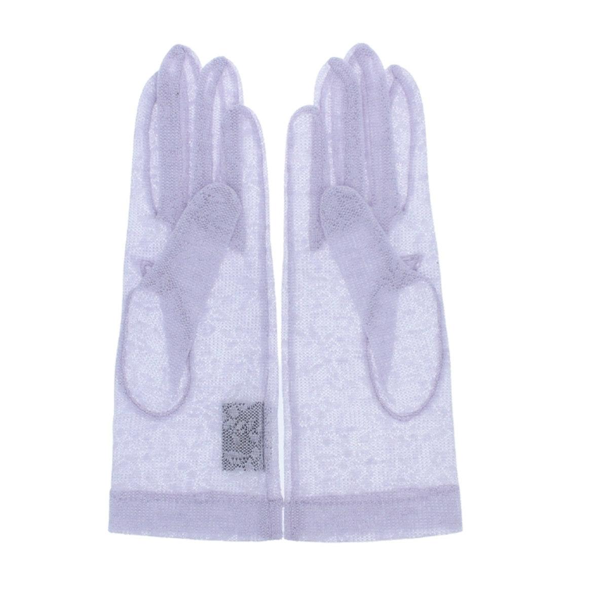 アルタクラッセ UV手袋 UVカット 紫外線対策 シルク ショート丈 24cm パーティ フォーマル 五本指 日本製 エレガント 花柄 上品 フェミニン プレゼント ギフト