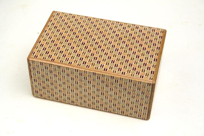 秘密箱21+1回仕掛け 5寸 二崩し
