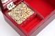 寄木5寸オルゴール宝石箱(曲名:星に願いを)