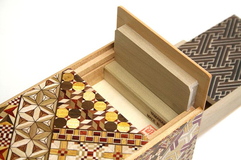 秘密箱7+1回仕掛け 5寸 引き出し付