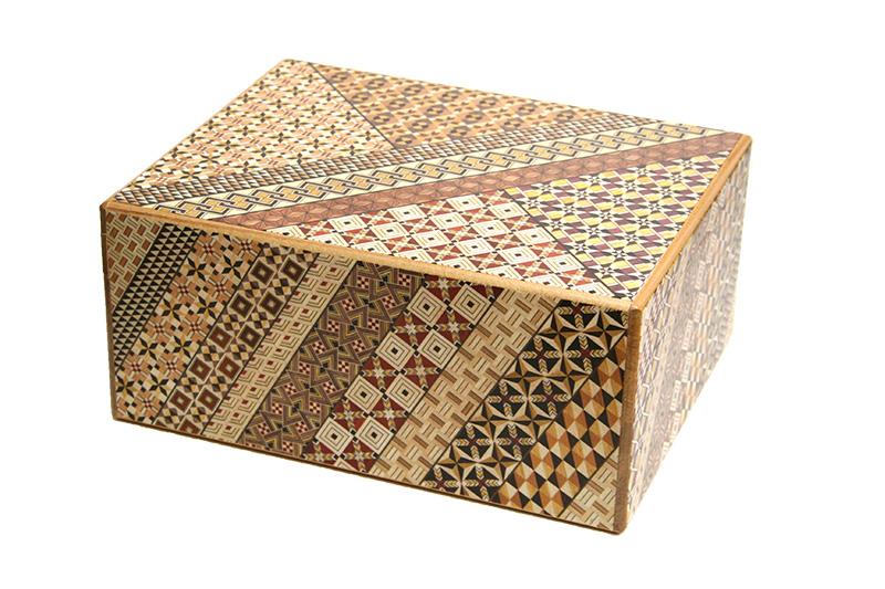 特大秘密箱10回仕掛け 尺 小寄木