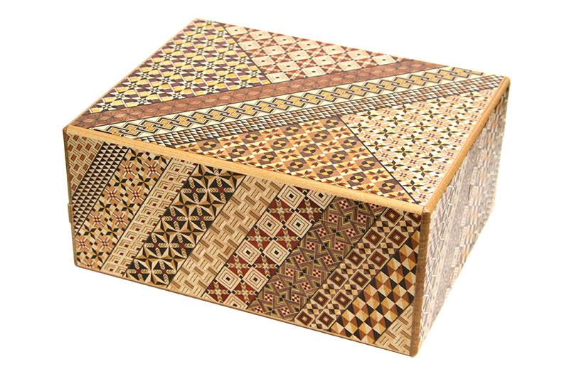 特大秘密箱54回仕掛け 尺 小寄木