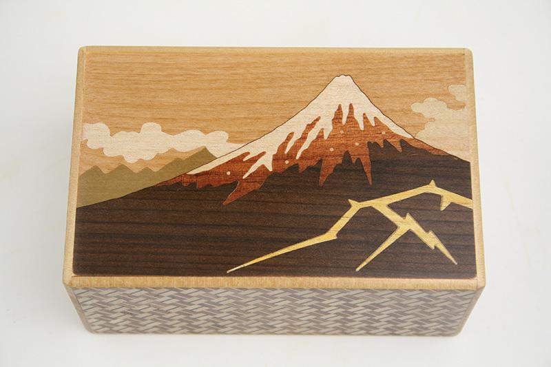 秘密箱10回仕掛け 雷富士と椿