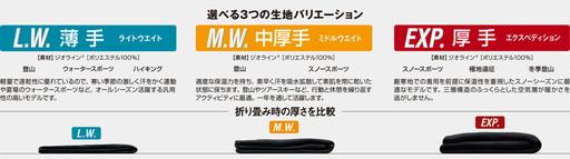 モンベル ジオラインEXP(厚手)タイツ男性用 1107522