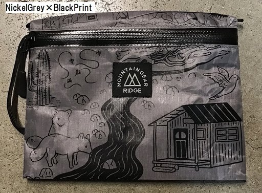 "RIDGE MOUNTAIN GEAR(リッジマウンテンギア) Travel Pouch Plus JUN OSON on the DCF Hybrid ""Trail"""