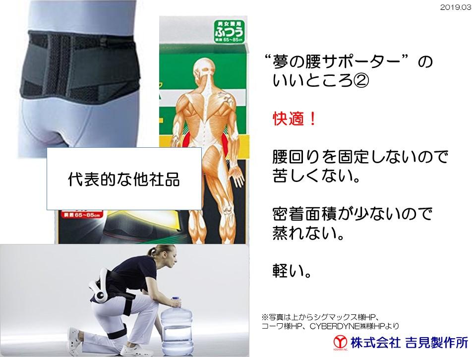形状記憶合金だからできた、新しい装具 「夢の腰サポーター」 Mサイズ