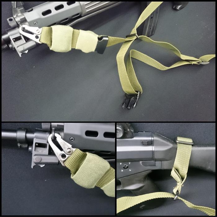陸上自衛隊 89式小銃用3点スリング OD