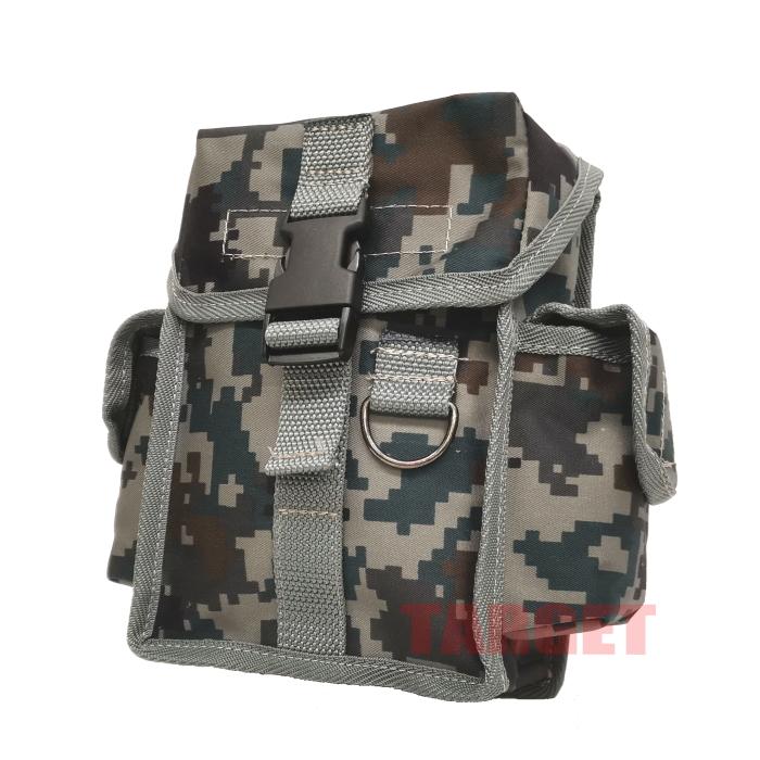 自衛隊 迷彩柄 ウエストバッグ サイドポケット付 陸自迷彩/デジタル迷彩