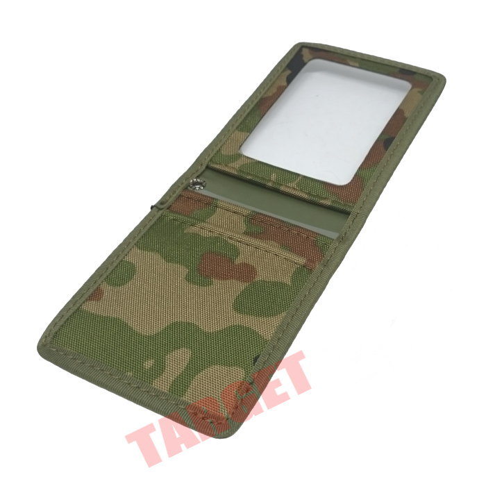 陸上自衛隊 迷彩 身分証明書入れ 縦型 二つ折
