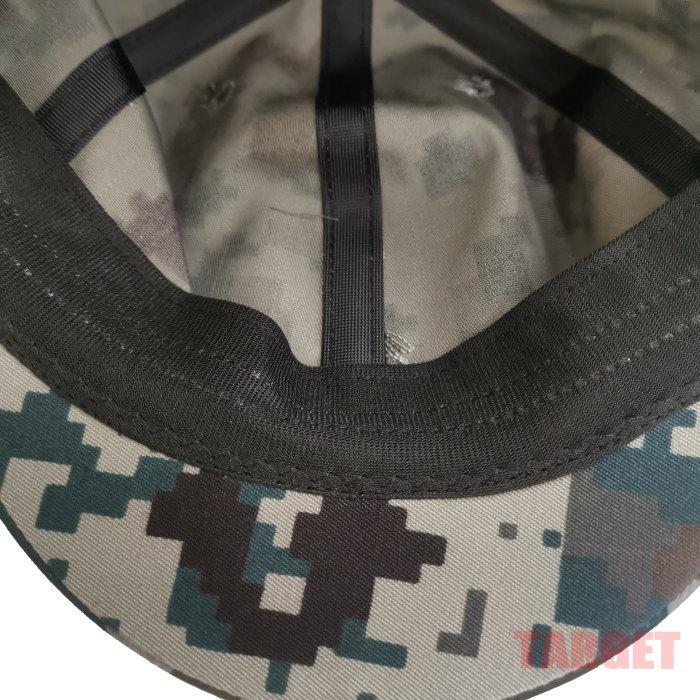 航空自衛隊 デジタル迷彩 八八式鉄帽用中帽