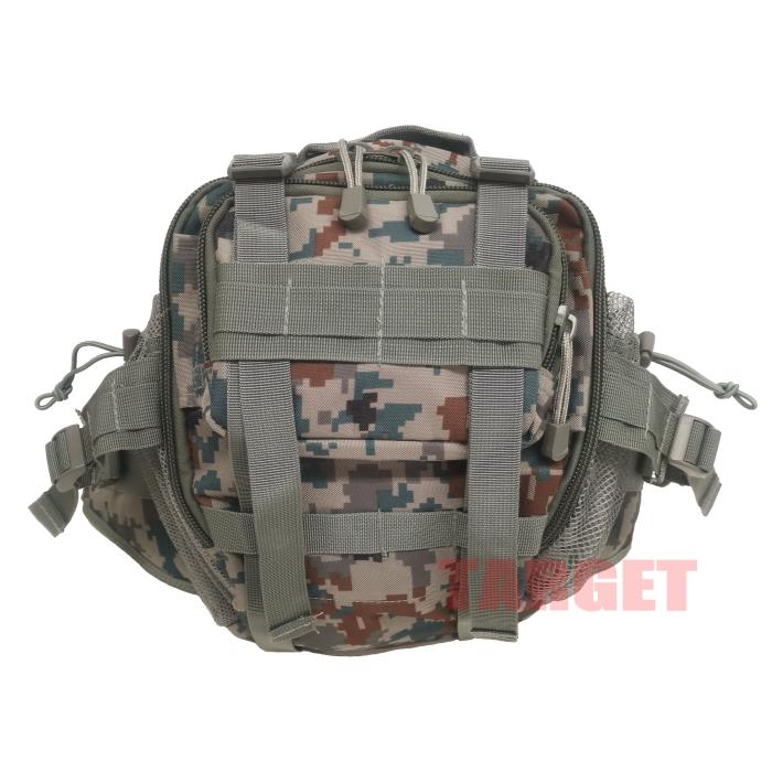 航空自衛隊 デジタル迷彩 3WAY ヒップバッグ