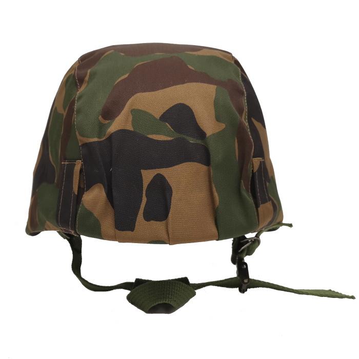 数量限定 航空自衛隊 野戦迷彩カバー付きヘルメット 鉄帽ゴムなし