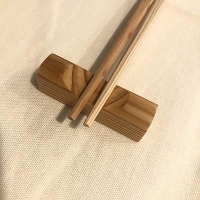杉つの箸(箸置セット)