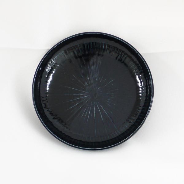 瑠璃陽刻線5.5寸皿