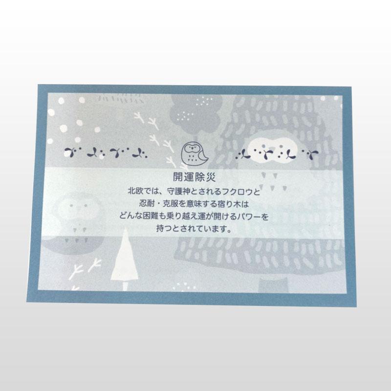 【夫婦箸】kiitos 桐箱ペアセット フクロウ&ヤドリギ