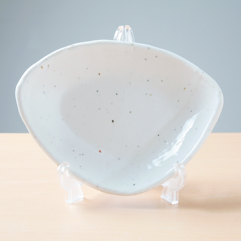 【Ashworkオリジナル】八角小皿 ash493【白いお皿で料理が映えます!】
