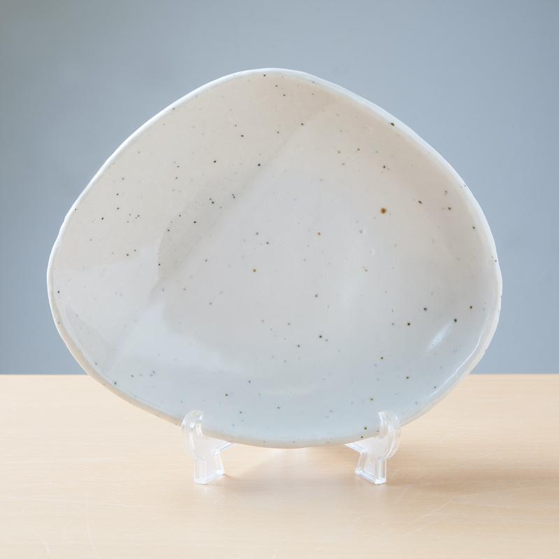 【Ashworkオリジナル】八角小皿(大)ash496【白いお皿で料理が映えます!】