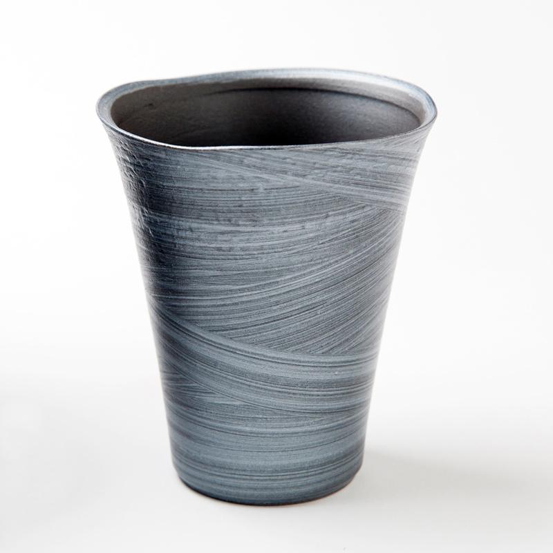 有田焼 星河フリーカップ(銀彩)【全三種類】