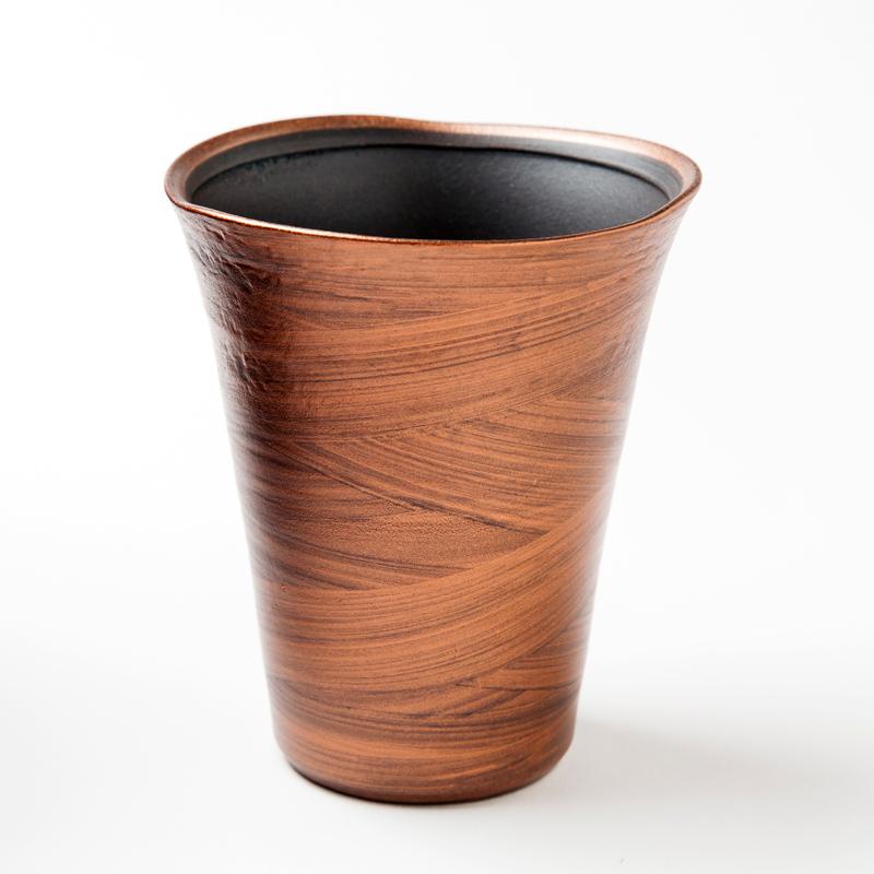 有田焼 星河フリーカップ(銅彩)【全三種類】