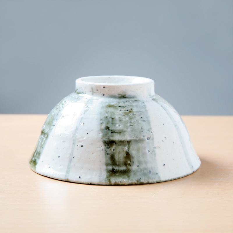 【Ashworkオリジナル】陶器製ご飯茶碗 ash488【すっと手になじむ】