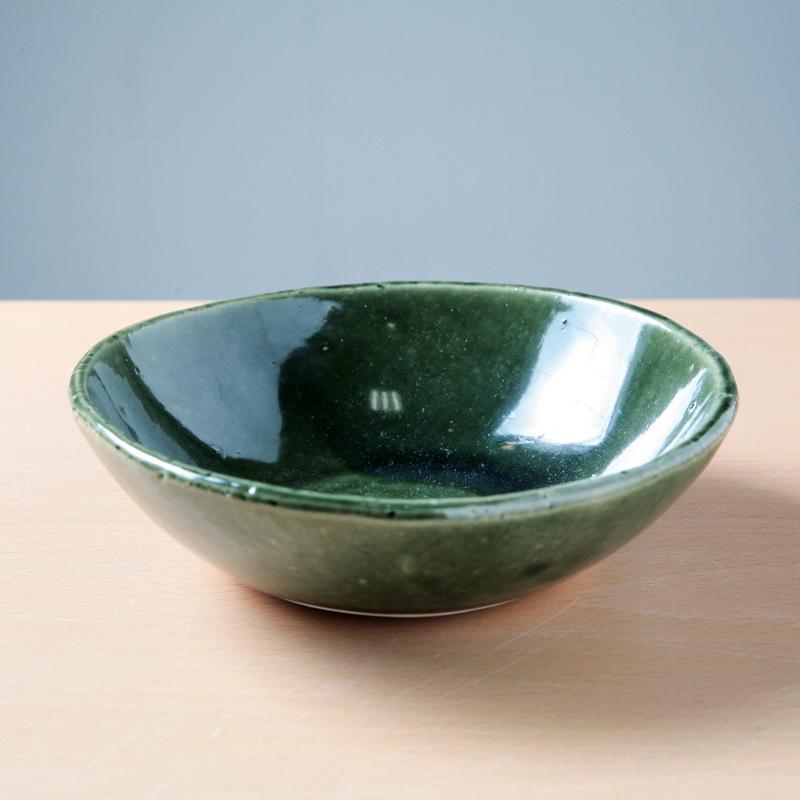 【Ashworkオリジナル】小鉢(緑)ash418【ちょっとした料理のうつわに】