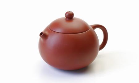 茶壷 台湾 貴妃壷 朱