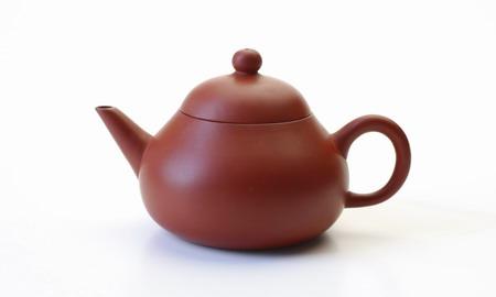 茶壷 台湾 西施壷 朱