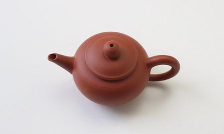 茶壷 宜興紫砂水平壷 清水泥  50cc