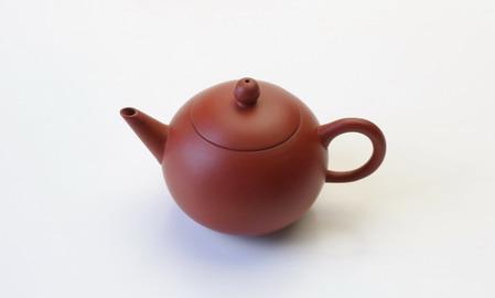 茶壷 台湾 小圓珠壷 朱