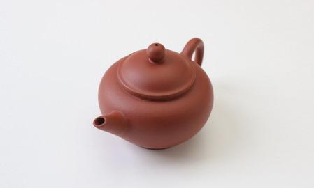 茶壷 宜興紫砂水平壷 清水泥  113cc