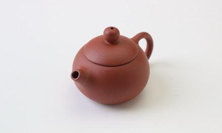 茶壷 宜興紫砂西施壷 紅泥 55�