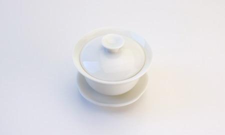 蓋碗   磁器 白磁 小 50