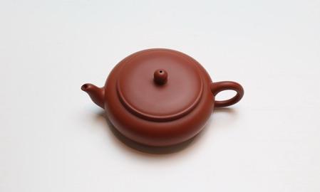 茶壷 台湾 月琴 70cc 朱