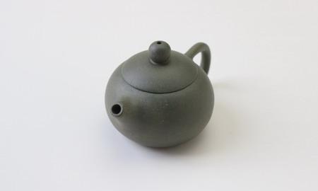 茶壷 宜興紫砂西施壷 緑泥  60cc