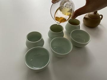 茶海 ガラス 120cc (持ち手なし)
